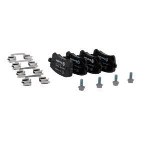 P85108 Bremsbelagsatz, Scheibenbremse BREMBO D13488213 - Große Auswahl - stark reduziert
