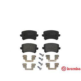 BREMBO | Bremsbelagsatz, Scheibenbremse P 85 108