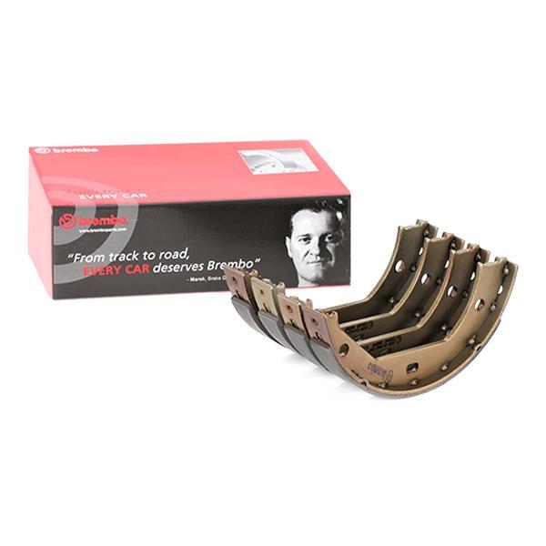 BREMBO Brake Shoe Set, parking brake