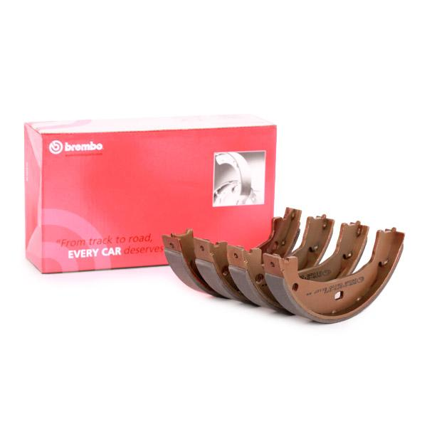 BREMBO Brake Shoe Set, parking brake