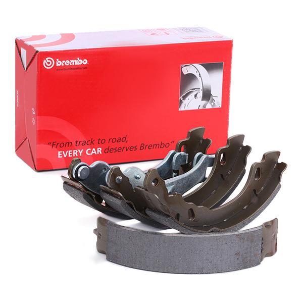 S 23 529 BREMBO Ø: 180mm, mit Handbremshebel Breite: 32mm Bremsbackensatz S 23 529 günstig kaufen
