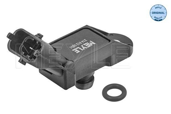 NISSAN ALMERA 2014 Sensor, Saugrohrdruck - Original MEYLE 214 812 0001 Pol-Anzahl: 3-polig, bis: 2,43bar, von: 0,26bar