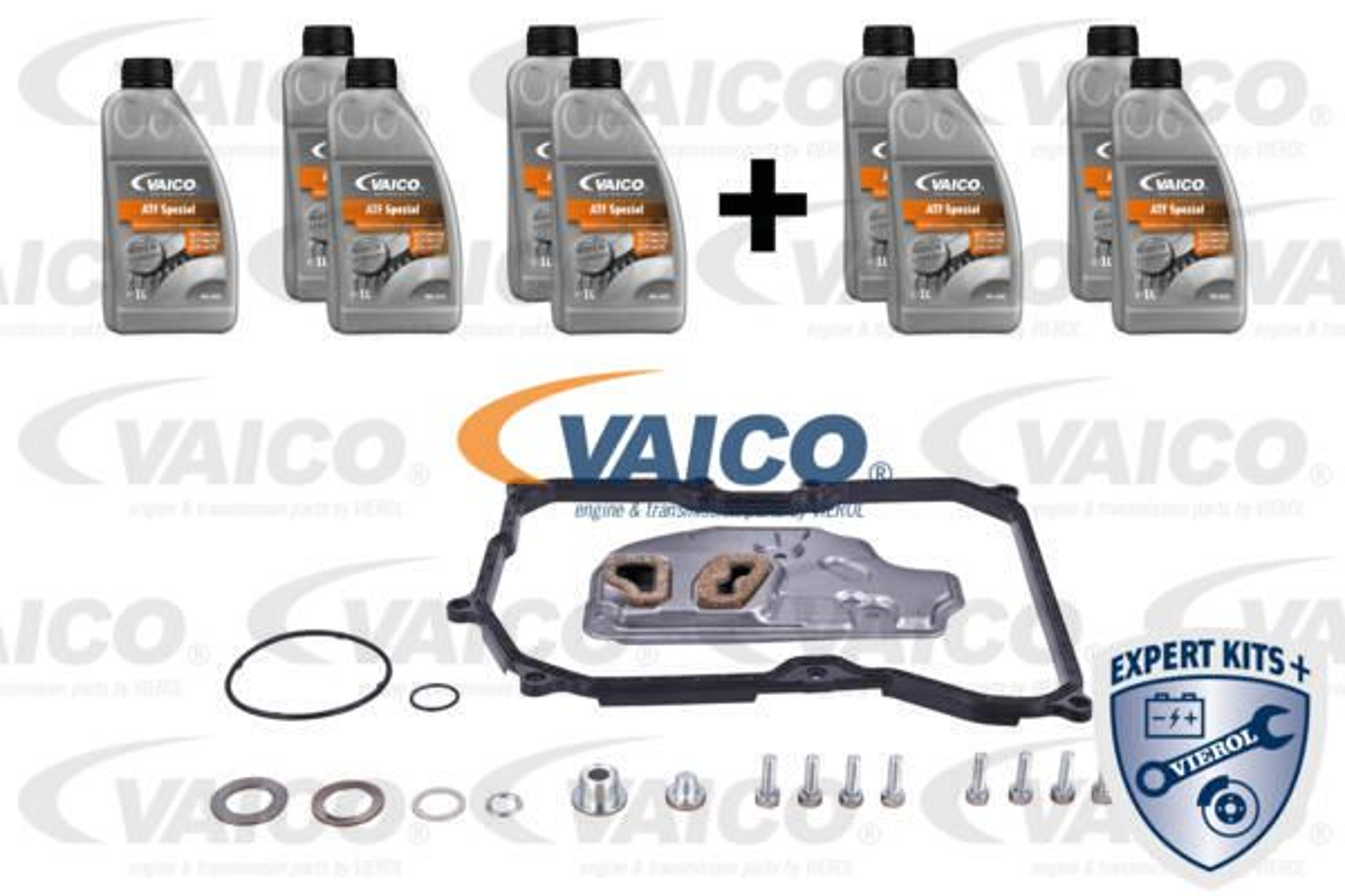 VW GOLF 2014 Teilesatz, Ölwechsel-Automatikgetriebe - Original VAICO V10-3218-XXL