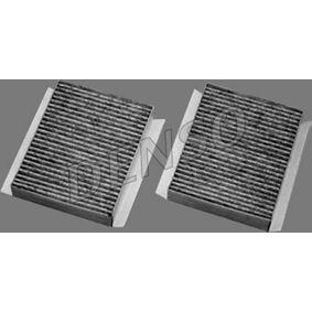DCF048K DENSO Charcoal Filter Width: 138mm, Height: 30mm, Length: 174mm Filter, interior air DCF048K cheap