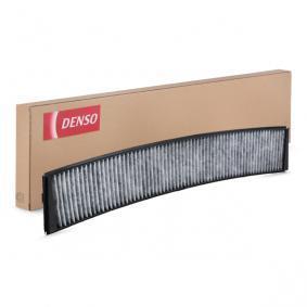 DCF062K DENSO Aktivkohlefilter Breite: 95mm, Höhe: 20mm, Länge: 660mm Filter, Innenraumluft DCF062K günstig kaufen