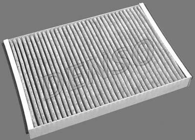 Купете DCF200K DENSO филтър с активен въглен ширина: 198мм, височина: 30мм, дължина: 292мм Филтър, въздух за вътрешно пространство DCF200K евтино