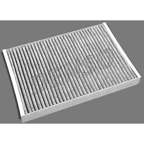 Купете DENSO филтър с активен въглен ширина: 198мм, височина: 30мм, дължина: 292мм Филтър, въздух за вътрешно пространство DCF200K евтино