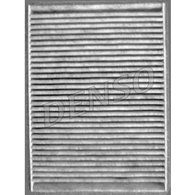 DCF229K DENSO Aktivkohlefilter Breite: 180mm, Höhe: 30mm, Länge: 255mm Filter, Innenraumluft DCF229K günstig kaufen