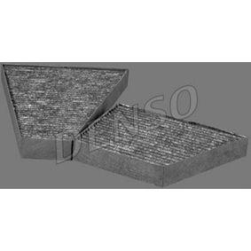 DCF231K DENSO Aktivkohlefilter Breite: 221mm, Höhe: 30mm, Länge: 172mm Filter, Innenraumluft DCF231K günstig kaufen