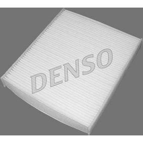 DCF235P DENSO Partikelfilter Breite: 209mm, Höhe: 35mm, Länge: 233mm Filter, Innenraumluft DCF235P günstig kaufen