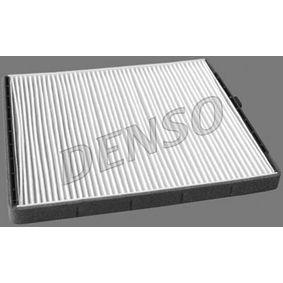 DCF242P DENSO Partikelfilter Breite: 204mm, Höhe: 19mm, Länge: 249mm Filter, Innenraumluft DCF242P günstig kaufen