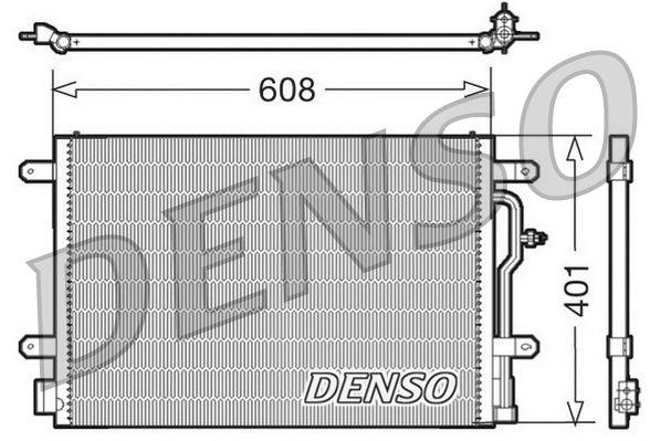 OE Original Klimakondensator DCN02012 DENSO