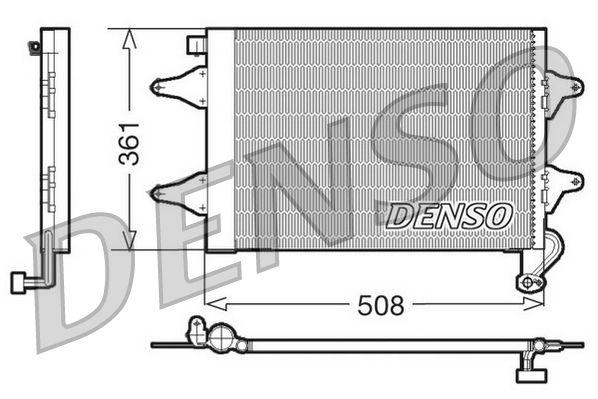 OE Original Kondensator Klimaanlage DCN27004 DENSO