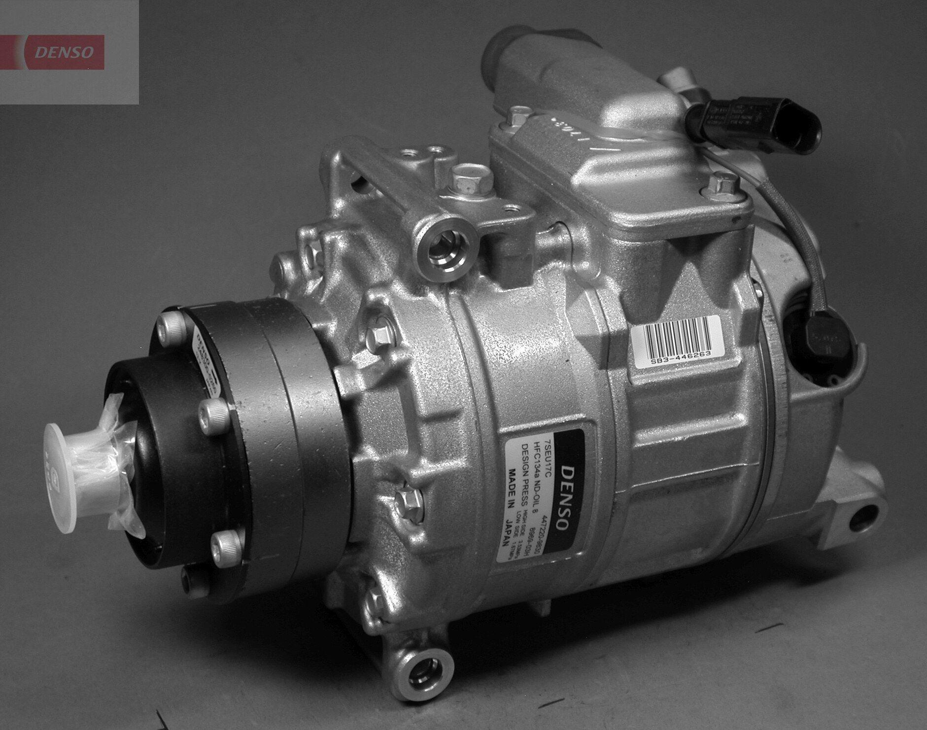 DCP02015 DENSO PAG 46, Kältemittel: R 134a Anzahl der Rillen: 1 Klimakompressor DCP02015 günstig kaufen
