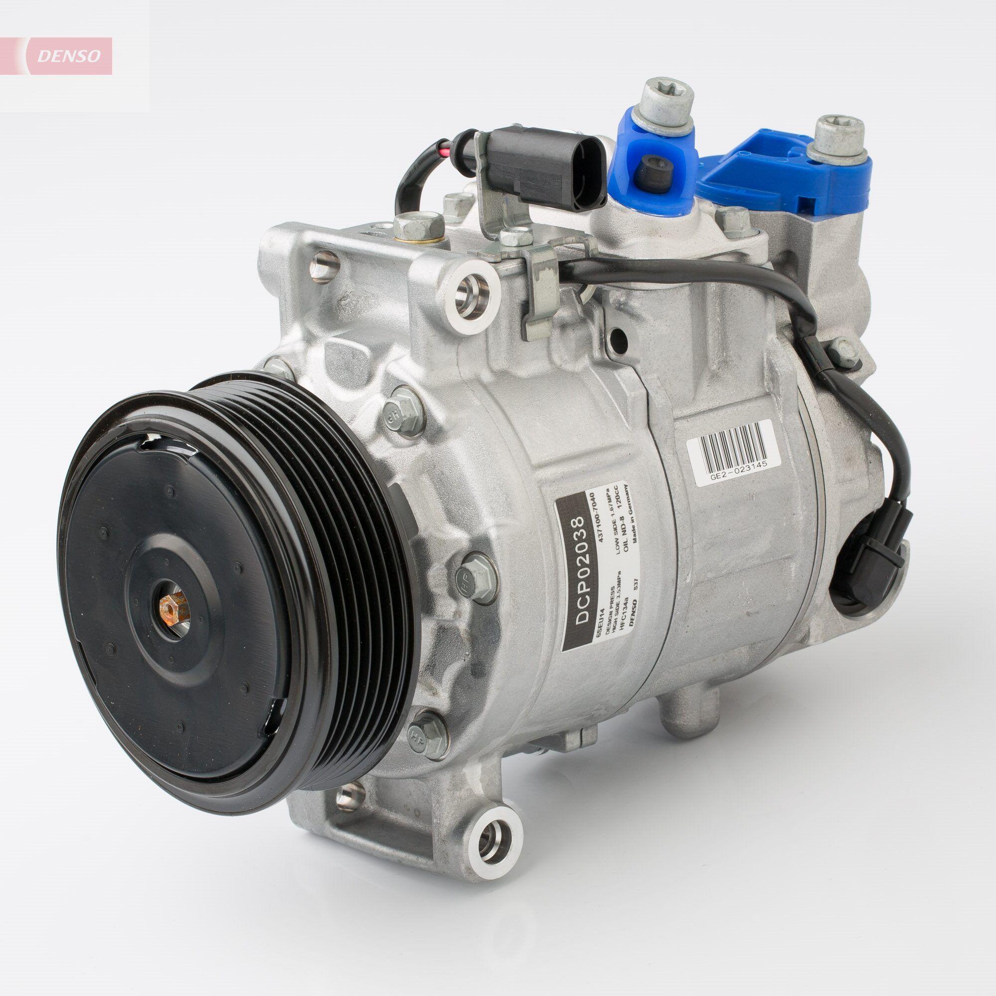 DCP02038 Klimakompressor DENSO Test