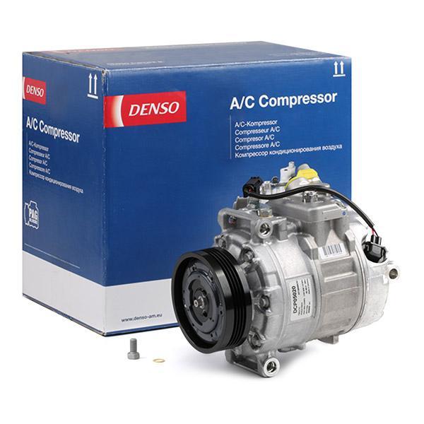 DENSO: Original Klimakompressor DCP05020 (Riemenscheiben-Ø: 100mm, Anzahl der Rillen: 4)