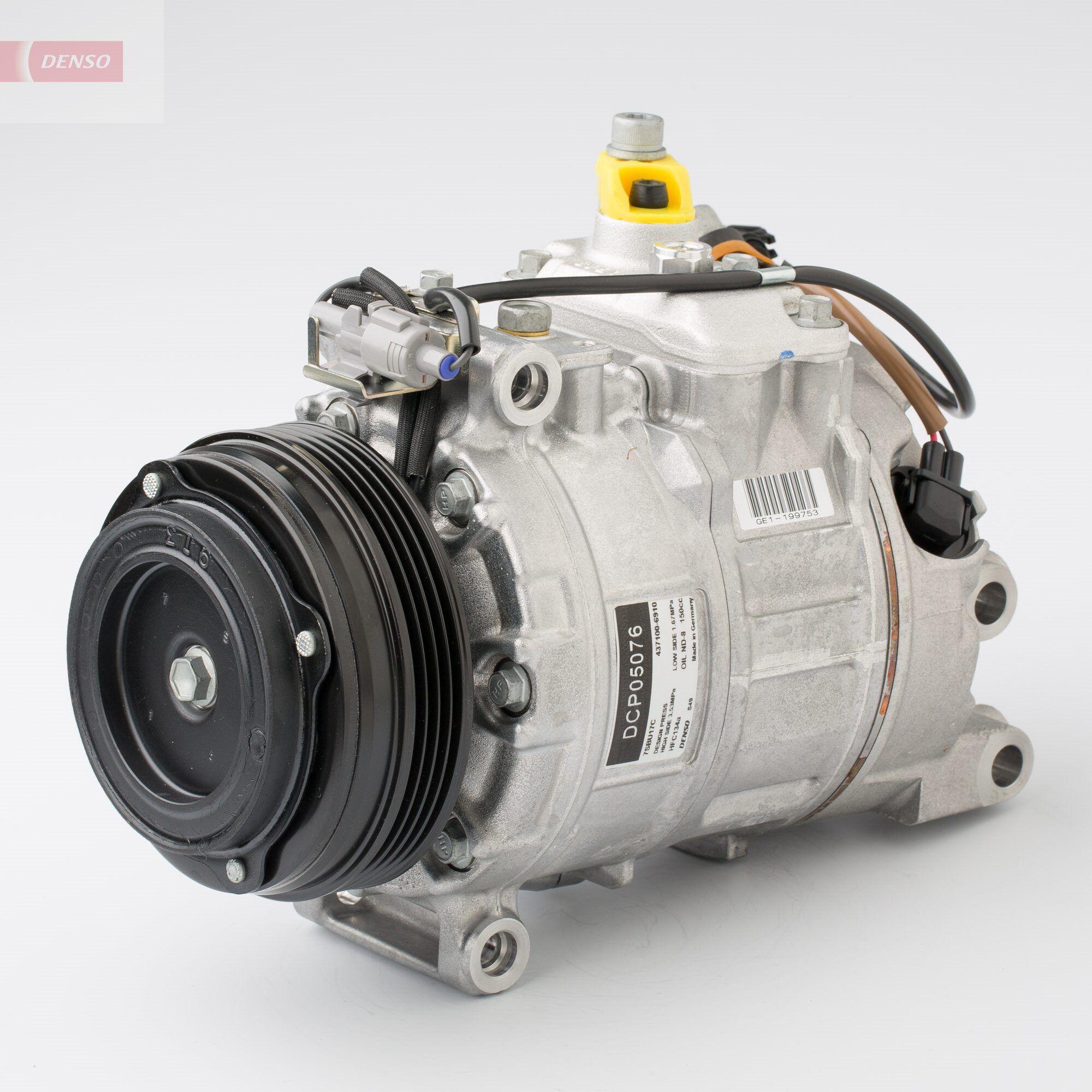 Klimakompressor DCP05076 BMW 5er 2012