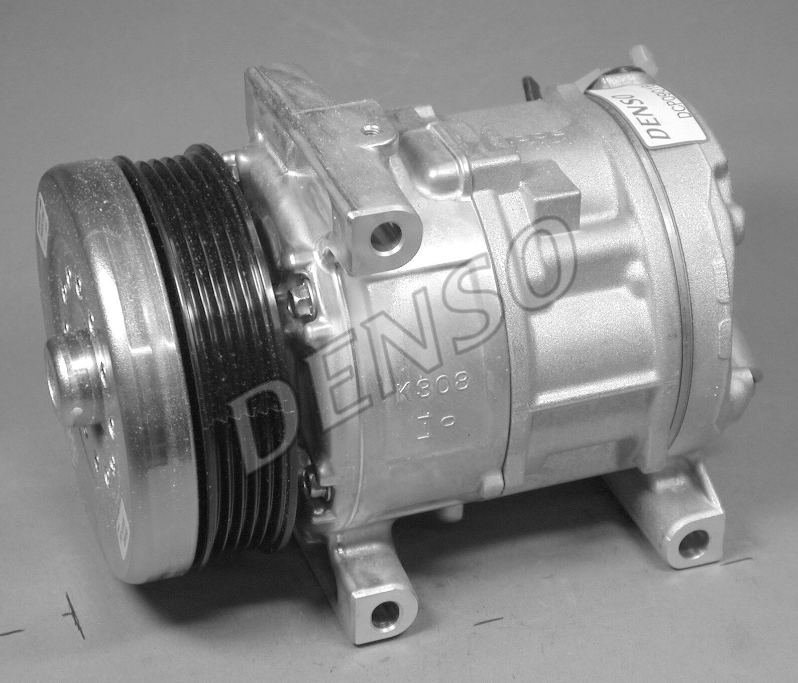 DCP09016 DENSO PAG 46, Kältemittel: R 134a Riemenscheiben-Ø: 110mm, Anzahl der Rillen: 5 Kompressor, Klimaanlage DCP09016 günstig kaufen