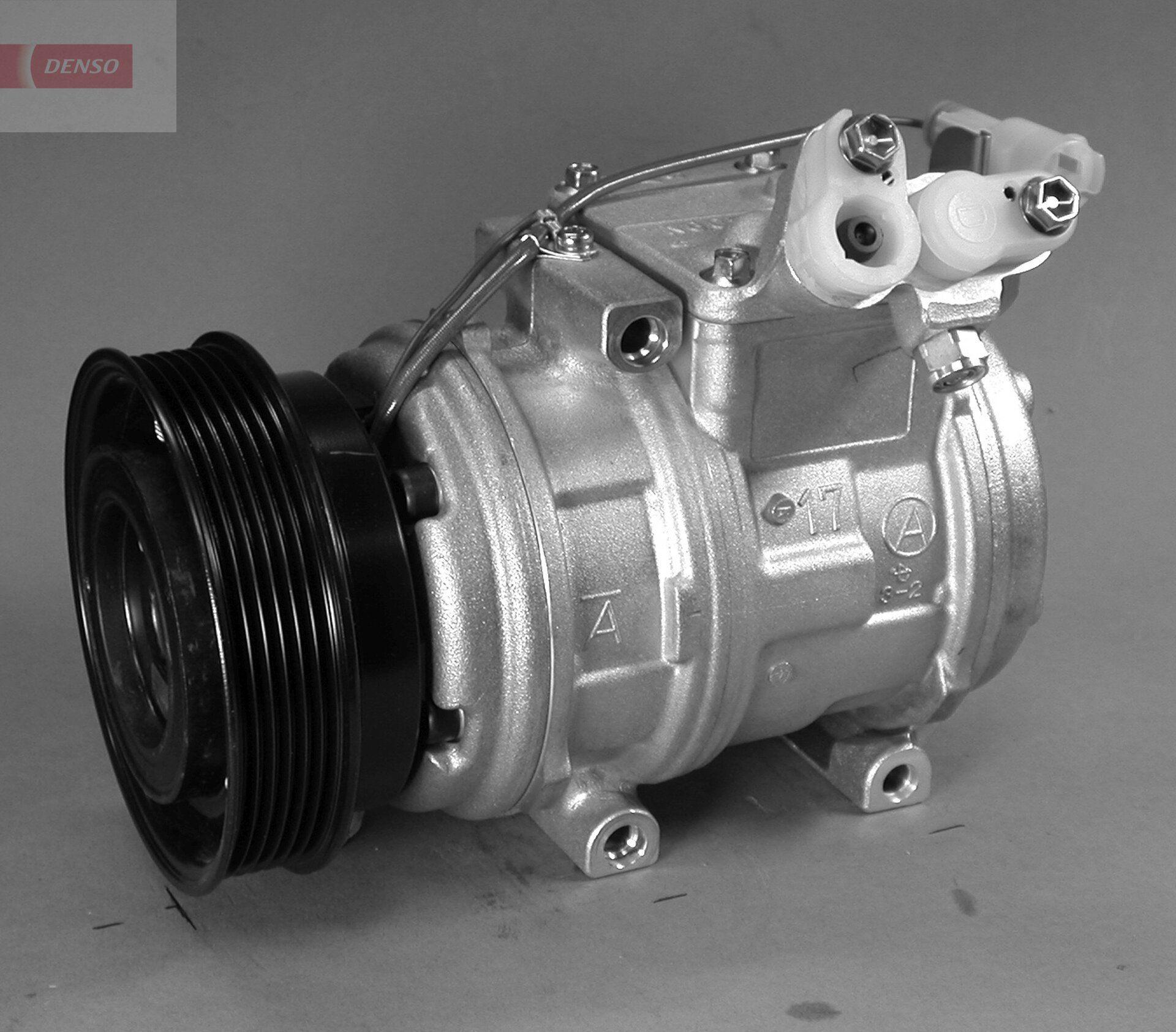 DCP14005 DENSO PAG 46, Kältemittel: R 134a Riemenscheiben-Ø: 120mm, Anzahl der Rillen: 6 Klimakompressor DCP14005 günstig kaufen