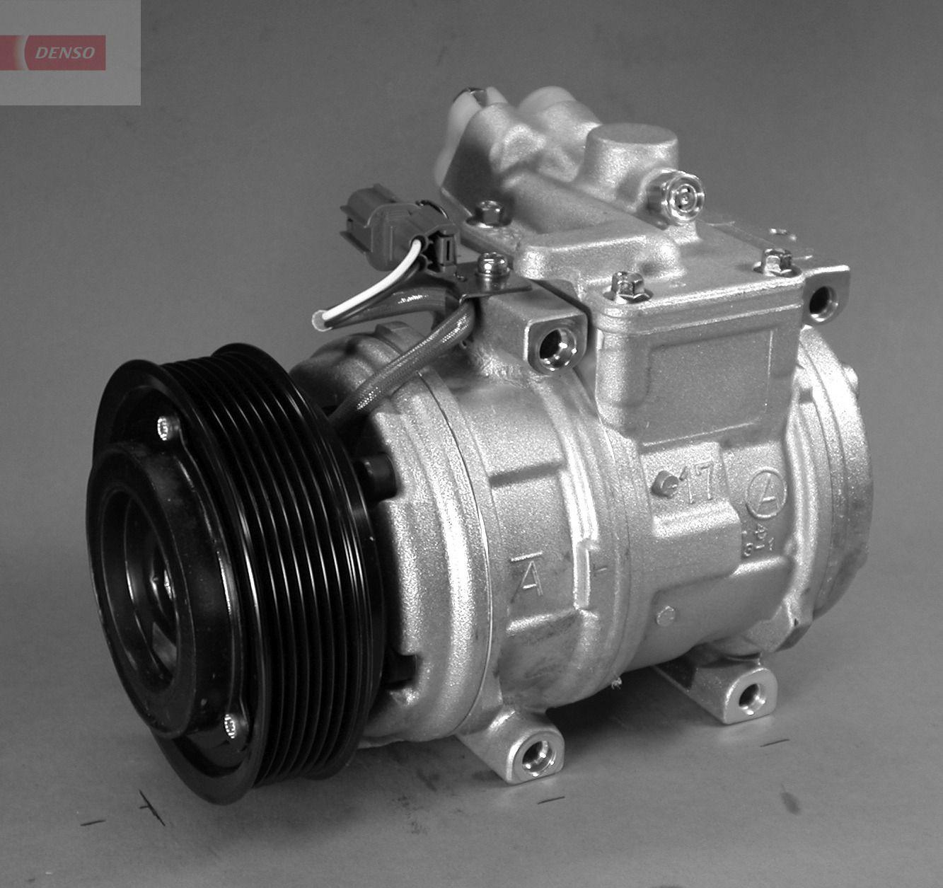 DENSO: Original Klimakompressor DCP14006 (Riemenscheiben-Ø: 120mm, Anzahl der Rillen: 7)