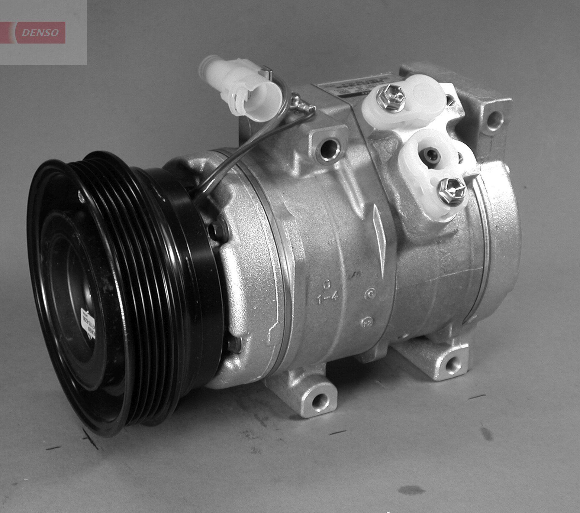 DCP14008 DENSO PAG 46, Kältemittel: R 134a Riemenscheiben-Ø: 120mm, Anzahl der Rillen: 5 Klimakompressor DCP14008 günstig kaufen