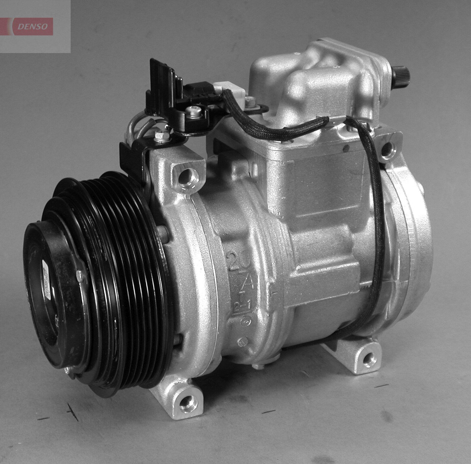 DCP17005 DENSO PAG 46, Kältemittel: R 134a Riemenscheiben-Ø: 120mm, Anzahl der Rillen: 6 Klimakompressor DCP17005 günstig kaufen