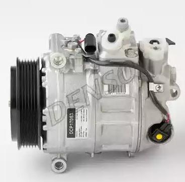DCP17053 DENSO PAG 46, Kältemittel: R 134a Riemenscheiben-Ø: 110mm, Anzahl der Rillen: 6 Klimakompressor DCP17053 günstig kaufen