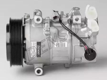 DCP23031 DENSO PAG 46, Kältemittel: R 134a Riemenscheiben-Ø: 119mm, Anzahl der Rillen: 7 Klimakompressor DCP23031 günstig kaufen