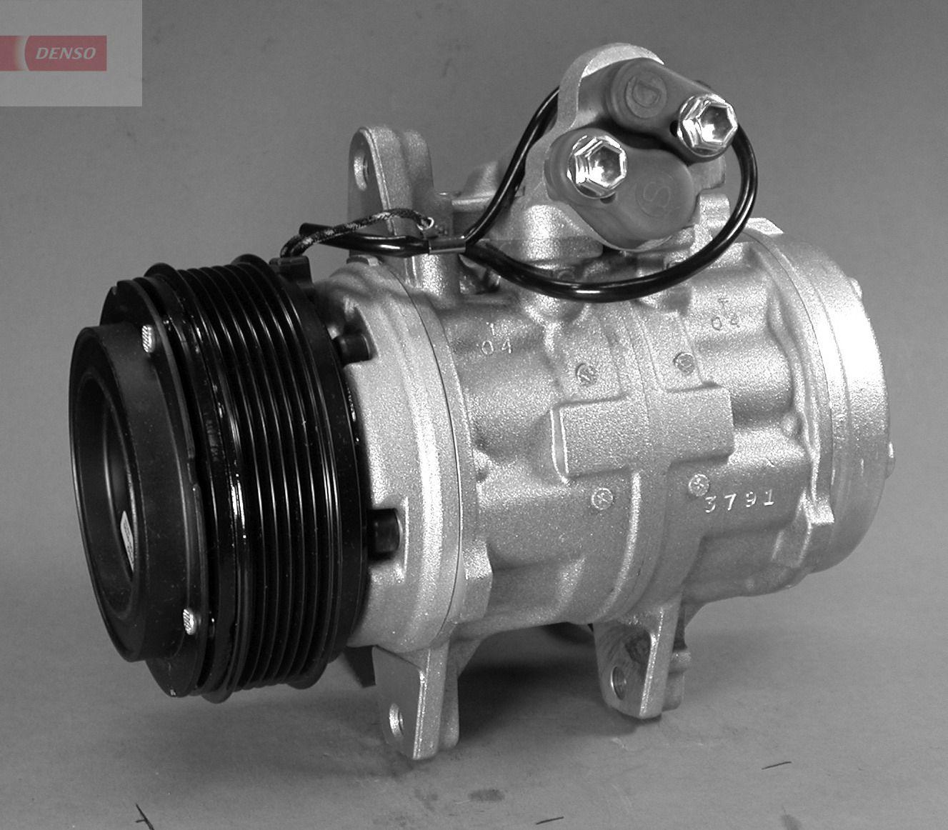 DENSO: Original Kompressor DCP28001 (Riemenscheiben-Ø: 125mm, Anzahl der Rillen: 6)
