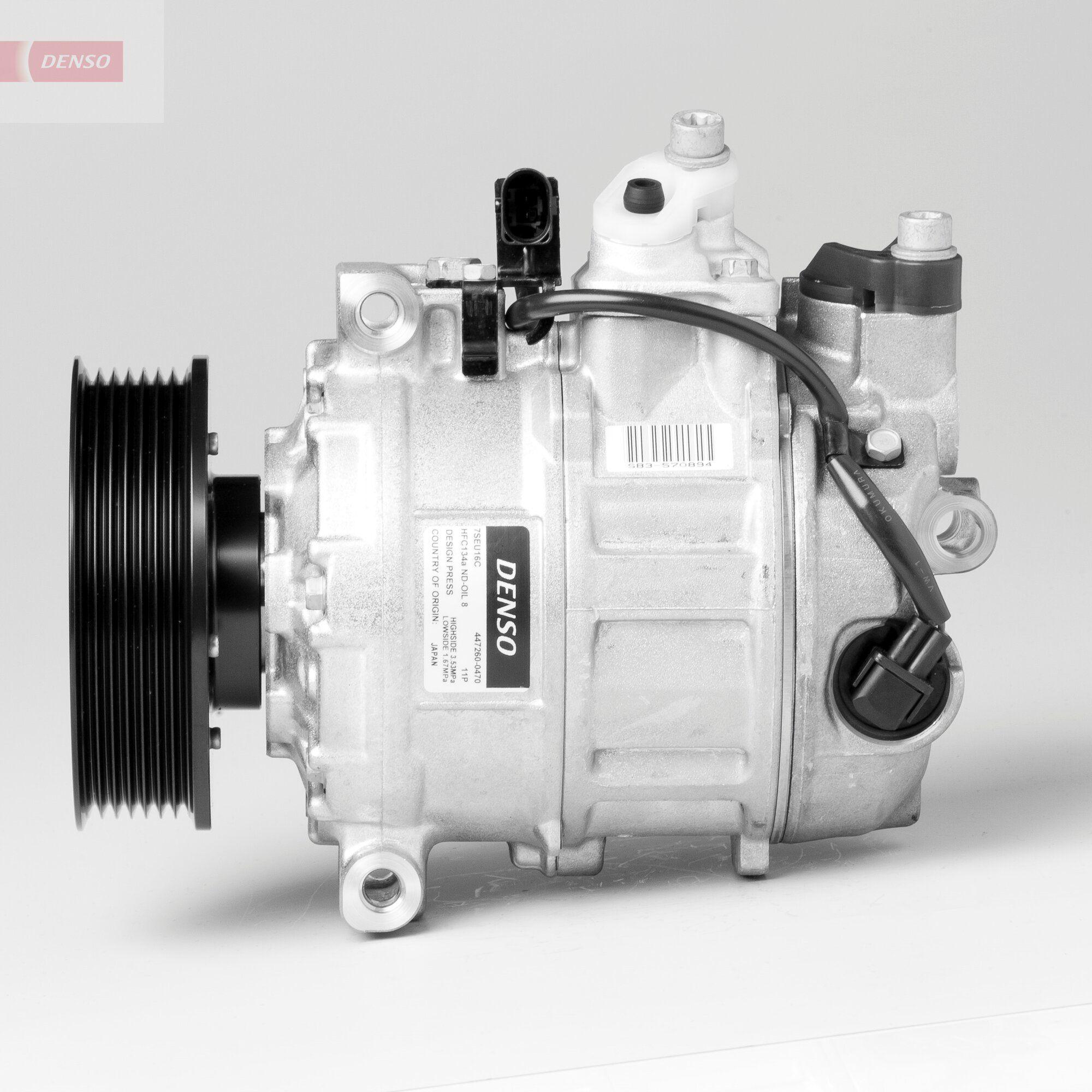 DENSO: Original Kompressor DCP32052 (Riemenscheiben-Ø: 110mm, Anzahl der Rillen: 7)
