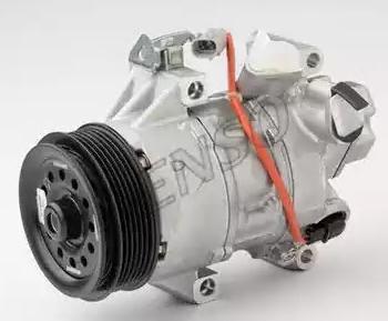DENSO: Original Kompressor DCP50240 (Riemenscheiben-Ø: 100mm, Anzahl der Rillen: 6)