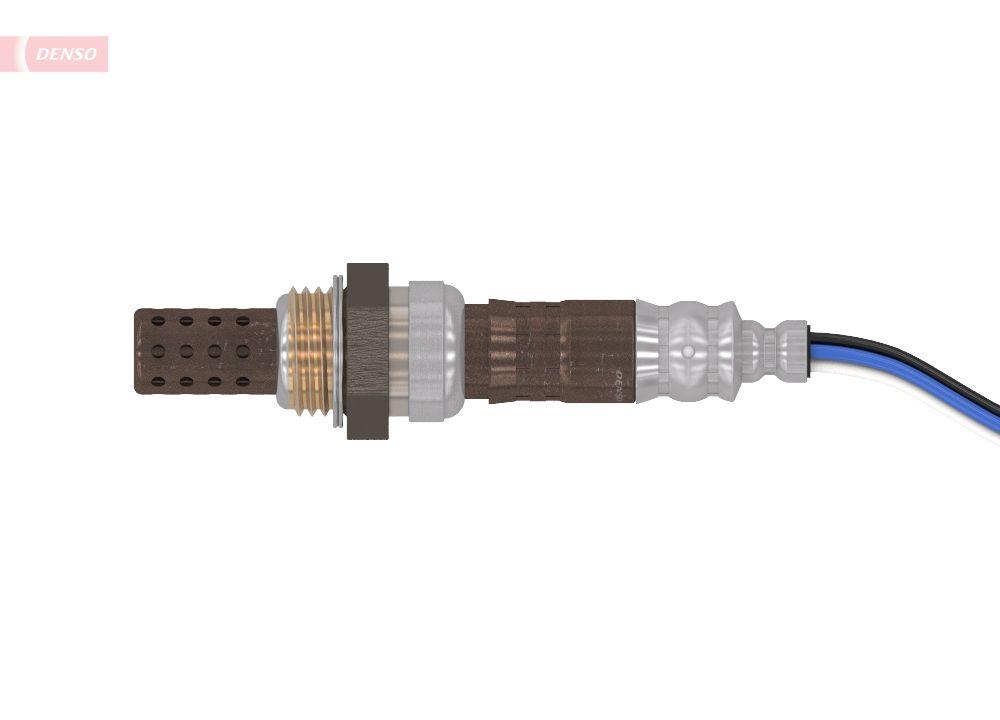 Achetez Sonde lambda DENSO DOX-0120 (Longueur de câble: 750mm) à un rapport qualité-prix exceptionnel