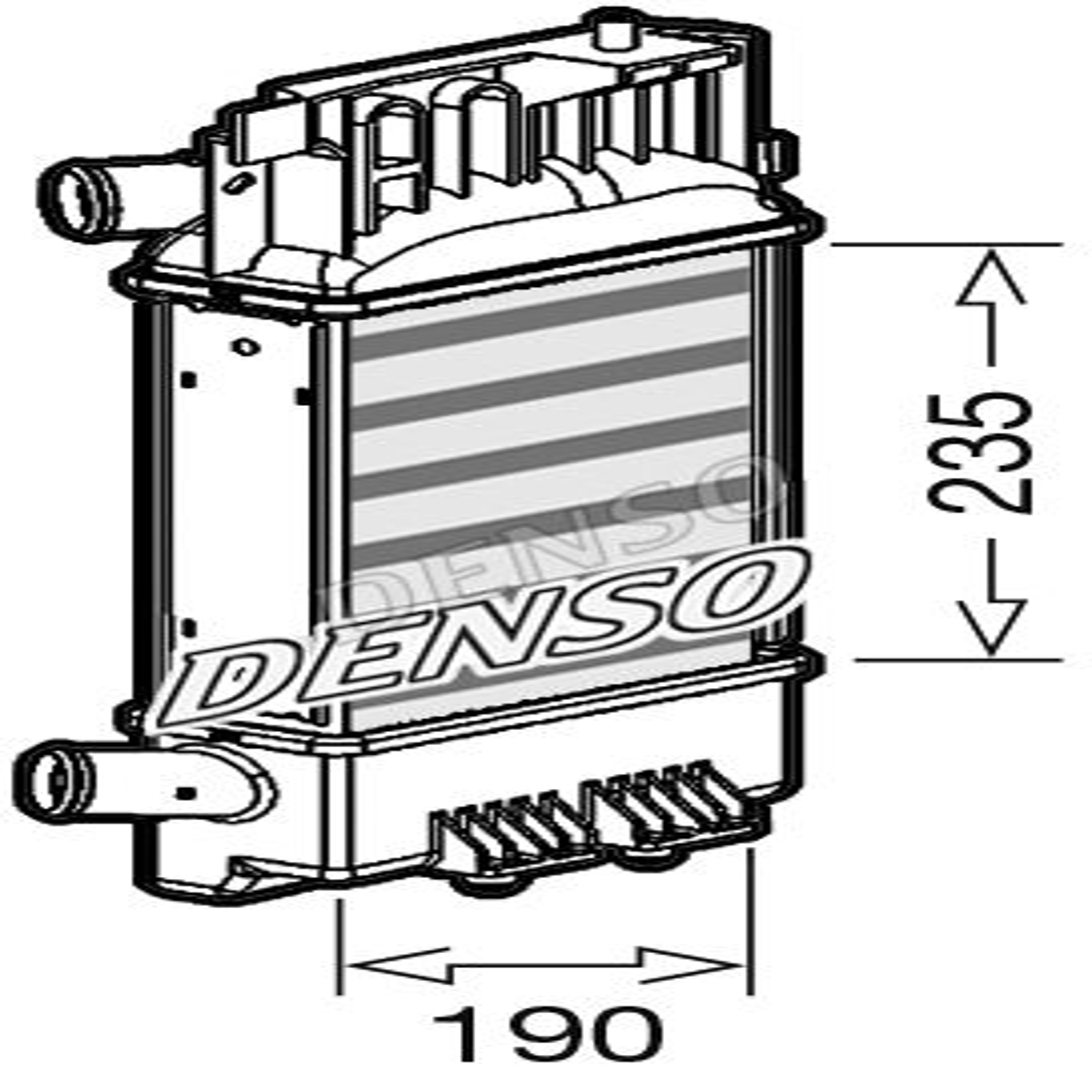 Elektrisk utrustning DOX-0262 som är helt DENSO otroligt kostnadseffektivt