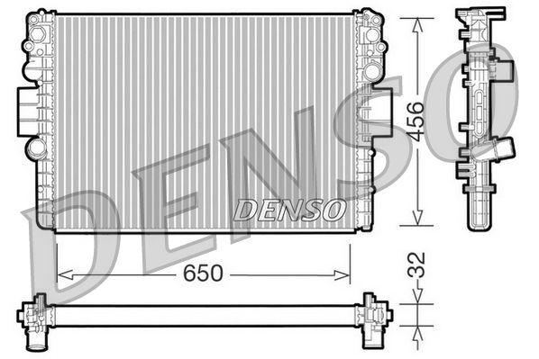 DRM12006 DENSO Aluminium Kühler, Motorkühlung DRM12006 günstig kaufen