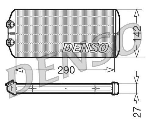 Wärmetauscher Innenraumheizung DENSO DRR07005