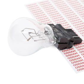 P277W OSRAM ORIGINAL P27/7W, W2,5x16q, 12V, 27/7W Glödlampa, blinker 3157 köp lågt pris