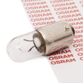 T5W OSRAM ORIGINAL Sockelglühlampe, 12V, 5W Glühlampe, Innenraumleuchte 3860 günstig kaufen