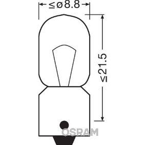 3860 Glödlampa, innerbelysning OSRAM - Upplev rabatterade priser