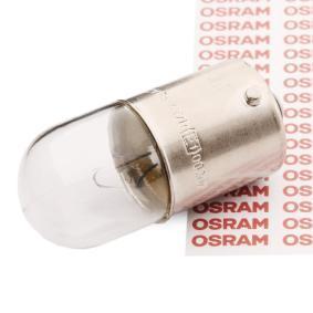 Køb OSRAM ORIGINAL R5W, BA15s, 12V, 5w Pære, blinklys 5007 billige