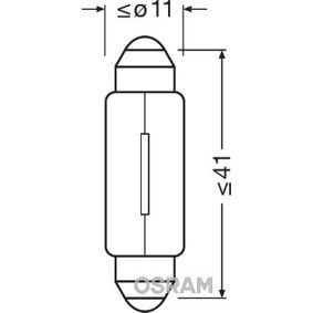 6413 Glühlampe, Innenraumleuchte OSRAM Erfahrung