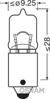 Żarówka, lampa kierunkowskazu 64132 w niskiej cenie — kupić teraz!