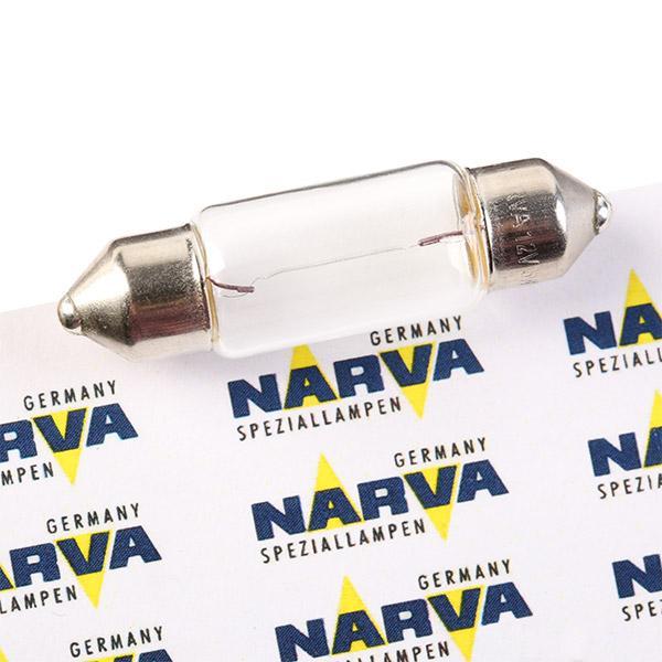 VW TRANSPORTER 2015 Glühbirne Kennzeichenbeleuchtung - Original NARVA 171253000