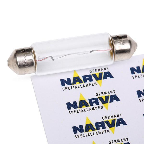 Glühbirne Kennzeichenbeleuchtung Golf 5 2003 - NARVA 173143000 ()