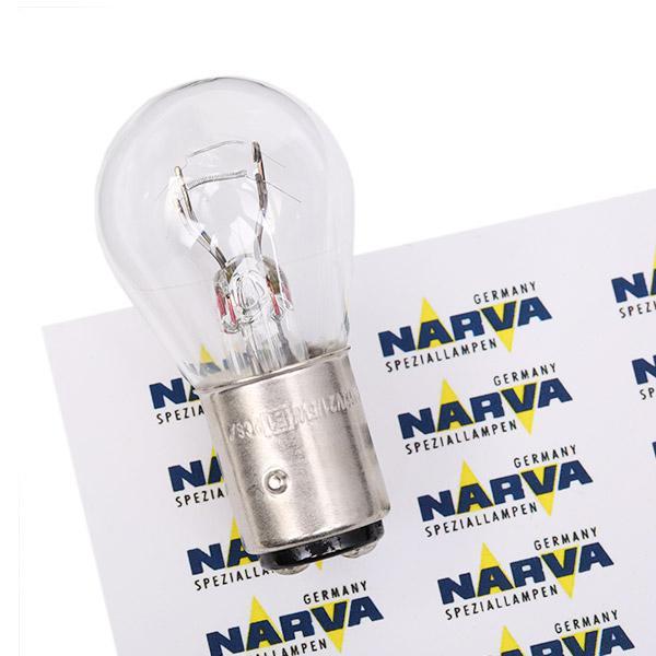 NARVA Żarówka, lampa kierunkowskazu 12V 21/5W, P21/5W, BAY15d 179163000 HARLEY-DAVIDSON