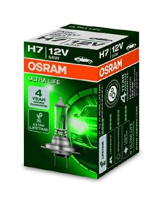 64210ULT Glödlampa, fjärrstrålkastare OSRAM Test