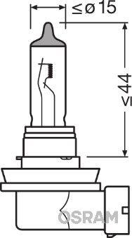 64211 Ampoule, projecteur longue portée OSRAM - L'expérience aux meilleurs prix