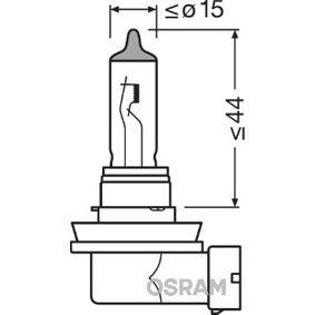 64211 Glödlampa, fjärrstrålkastare OSRAM originalkvalite
