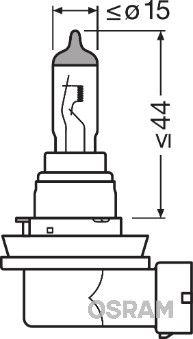 64212 Gloeilamp, verstraler OSRAM originele kwaliteit