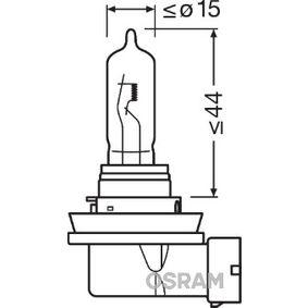 64213 Hõõgpirn, Kaugtuli OSRAM originaal kvaliteediga