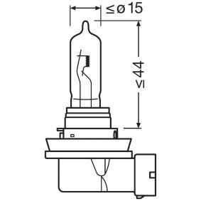 64213 Glödlampa, fjärrstrålkastare OSRAM originalkvalite